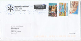Mali Cover Börnefonden Sent To Denmark 2007 Topic Stamps - Mali (1959-...)