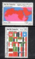 XP4103 - SOMALIA 1974 , Serie Yvert N. 170/171  *** - Somalia (1960-...)