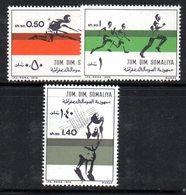 XP4104 - SOMALIA 1974 , Serie Yvert N. 165/167  ***  Atletica - Somalia (1960-...)