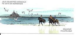 JEUX EQUESTRES MONDIAUX NORMANDIE 2014 - EQUITATION - HORSE RIDING - Cartes Postales