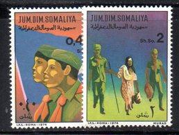XP4105 - SOMALIA 1974 , Serie Yvert N. 168/169  ***  Scout - Somalia (1960-...)