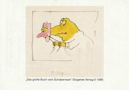Carte Invitation Tomi Ungerer 1997 CI - Cartes