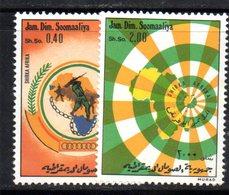 XP4107 - SOMALIA 1974 , Serie Yvert N. 163/164  ***  Oua - Somalia (1960-...)