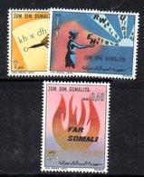 XP4106 - SOMALIA 1973 , Serie Yvert N. 160/162  *** - Somalia (1960-...)