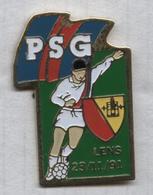 Pin's Football RC Lens PSG Paris 23 Novembre 1991 - Calcio