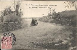 *CIRCUIT D'AUVERGNE. COUPE GORDON BENNETT 1905. NEBOUZAT TOURNANT DES 4 ROUTES - Bus & Autocars