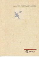 Carte De Voeux Double Tomi Ungerer 1992 CV 01 Anvar - Cartes