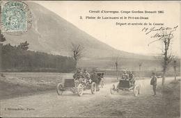 *CIRCUIT D'AUVERGNE. COUPE GORDON BENNETT 1905. PLAINE DE LASCHAMPS ET LE PUY DE DOME. DEPART ET ARRIVEE DE LA COURSE - Bus & Autocars