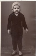 "RUSSIA. #1052 A PHOTO. ""CHILDREN. BOY IN CAP AND STYLE BOOTS  *** - Projecteurs De Films"