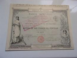PARIS NOUVEAU (1882) Imprimerie RICHARD - Non Classés