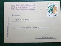 (26417) STORIA POSTALE ITALIA 1981 - 6. 1946-.. Repubblica