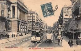 CPA Marseille - La Cannebière - Canebière, Centre Ville