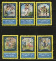 Continental-Absätze - Aschenputtel Frau HolleHans Im Glück Hänsel Und Gretel Dornröschen Rotkäppchen - Complete Set - Erinnophilie