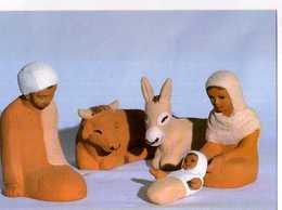 Creche, Photo B Wadoux Petites Soeurs De Jesus - Cristianesimo