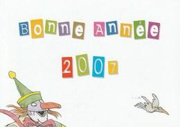 Carte De Voeux DoubleTomi Ungerer 2007 CV - Cartes