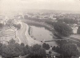 """UKRAINE.  #1058 A PHOTO. """"VIEW OF THE SEAFRONT. RIVER, BRIDGE. WHERE ???.  *** - Projecteurs De Films"""