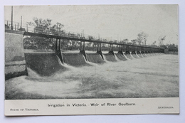 Irrigation In Victoria - Weir Of River Goulburn, Australia - Australia