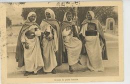 ETHNIQUES ET CULTURES - AFRIQUE DU NORD - TUNISIE - Groupe De Spahis Tunisien - Afrique