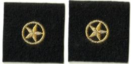 Etoile Insignes De Col Du Quatrième Niveau De Qualification Brevet. Marine NEUF - Marine