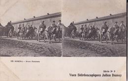 BISKRA OCE FANTASIA VUES STEREOSCOPIQUESS JULIEN DAMOY SERIE N. 9 AUTENTICA 100% - Cartoline Stereoscopiche