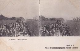 BISKRA NOCE FANTASIA VUES STEREOSCOPIQUESS JULIEN DAMOY SERIE N. 9 AUTENTICA 100% - Cartoline Stereoscopiche