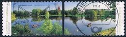 Allemagne Fédérale - Tourisme : Royaume Des Jardins De Dessau-Wörlitz 3181/3182 (année 2018) Oblit. - [7] République Fédérale