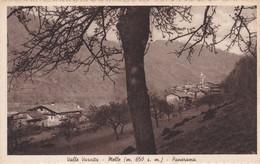 CARTOLINA - POSTCARD - CUNEO - VALLE VARAITA - NELLE M. 650 S. M. - PANORAMA - Cuneo
