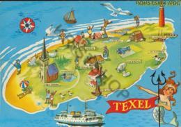 Texel - Topo [AA37 4.592 - Pays-Bas