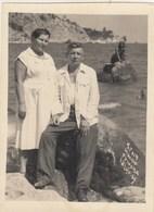 RUSSIA. #1062  A PHOTO. CRIMEA. MISKHOR. MERMAID. COUPLE. 1934  *** - Proyectores De Cine