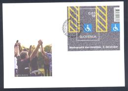 Slovenia Slowenien Slovenie 2018 FDC Cover International Day Of Persons With Disabilities; Internationale Invaliden Tag - Slowenien
