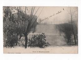 CHUTES DU BOUDOUYSSOU (7)  CPA N/B - VOYAGEE EN 1918 - Non Classés