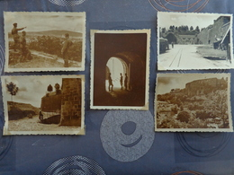 90 BELFORT LOT 5  PHOTOS MILITARIA GUERRE 39/45 SOLDATS ALLEMANDS  ARMEE ALLEMANDE 7 X 9.5 - Guerre, Militaire