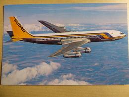 SUDAN AIRWAYS   B 707 300   ST AFA   AIRLINE ISSUE / CARTE COMPAGNIE - 1946-....: Ere Moderne