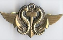 Insigne Nageur De Combat Commando Marine - Navy