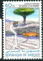 DJIBOUTI FOX TURTLES MNH** - Dschibuti (1977-...)