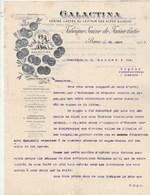Suisse Facture Lettre Illustrée Angelots 25/3/1903 GALACTINA Farine Lactée Au Lait Pur Des Alpes Suisses BERNE - Suisse
