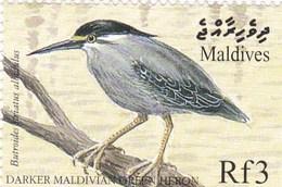 Maldives YV 2832/3 MNH 1999 Héron Gygis - Non Classés