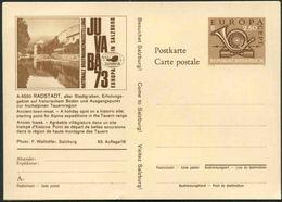 1973 Europa C.E.P.T., Cartoli Postale Austria JUVABA73, Nuova (**) - Interi Postali