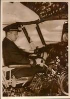 Aviation, Sabena, Compagnie Aerienne, The Captain At The Controls       (bon Etat) - Aviation