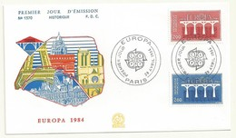 EUROPA FRANCE  PREMIER JOUR 28/04/1984 - Europa-CEPT