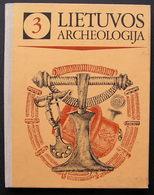 Lithuanian Book / Lietuvos Archeologija Vol. 3 1984 - Bücher, Zeitschriften, Comics