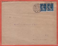 MEMEL LETTRE DE 1920 DE MEMEL POUR BERLIN ALLEMAGNE - Memel (1920-1924)