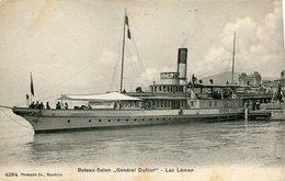 Bateau Salon Général DUFOUR Lac Léman - Otros