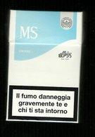 Tabacco Pacchetto Di Sigarette Italia - MS Chiare Da 20 Pezzi Tipo 2 Bis - Tobacco-Tabac-Tabak-Tabaco - Porta Sigarette (vuoti)