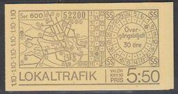 Sweden 1977 Local Transport Booklet ** Mnh (42141J) - Boekjes