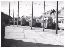 Amsterdam Remise Havenstraat Diverse Trams FOTO  # 1974    1908 - Amsterdam