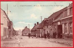 -- STEENVOORDE (Nord) - BUREAUX DES DOUANES Et RUE DE POPERINGHE -- - Steenvoorde