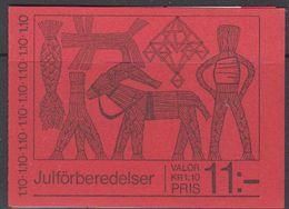 Sweden 1977 Christmas Booklet ** Mnh (42141K) - Boekjes