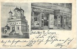 1898 - PITESTI   ARGES ,  Gute Zustand, 2 Scan - Roumanie