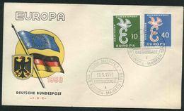 1958 Europa C.E.P.T., F.D.C. Germania - Europa-CEPT